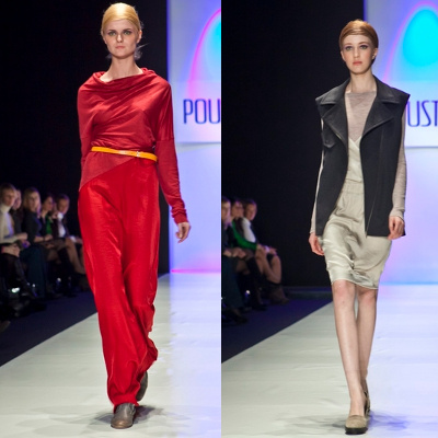 Лилия Пустовит на Mercedes-Benz Fashion Week