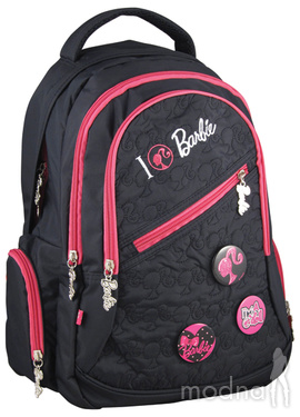 Рюкзак Barbie Kite B13-563K, черный