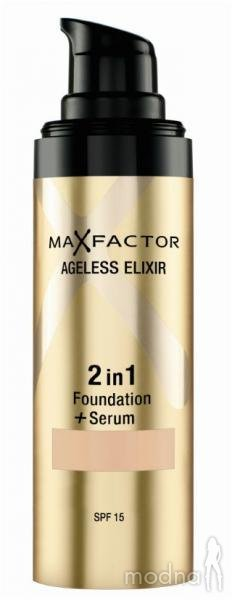 фото Основа тональная для лица AGELESS ELIXIR Max Factor